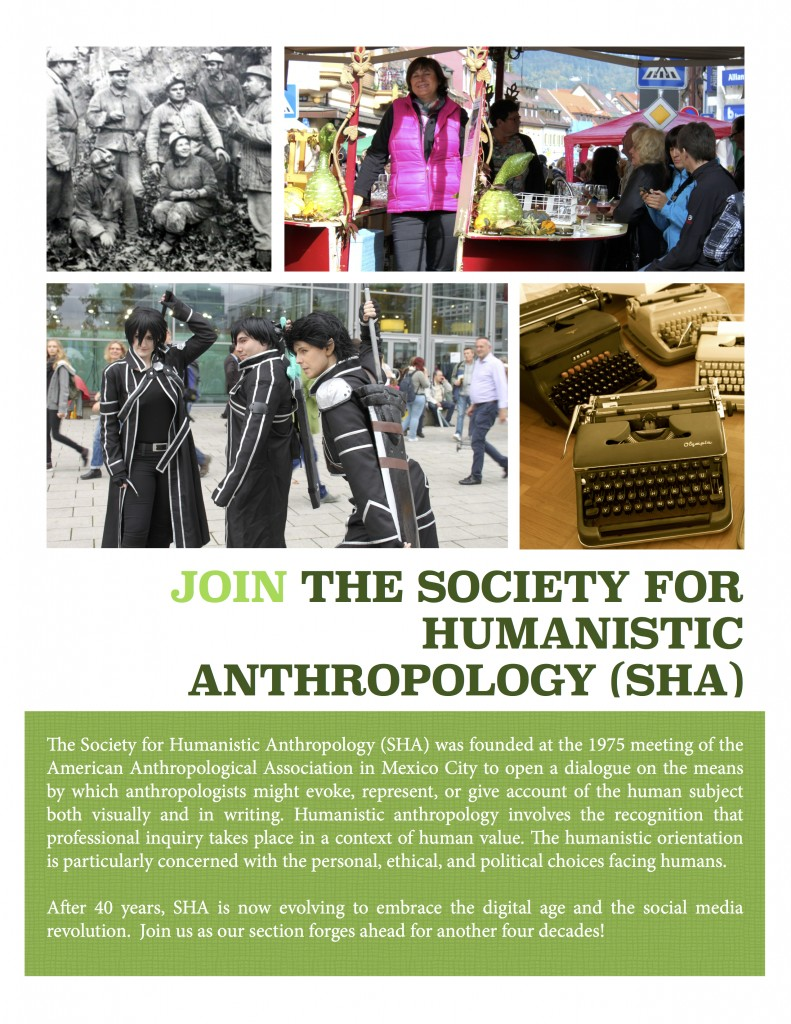 Join the Society for Humanistic Anthropology today!